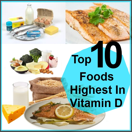 Foods That Contain Vitamins D